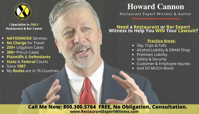 Howard Cannon (Restaurant Expert Witness)