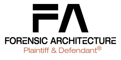 Forensic Architecture: Plaintiff and Defendant®
